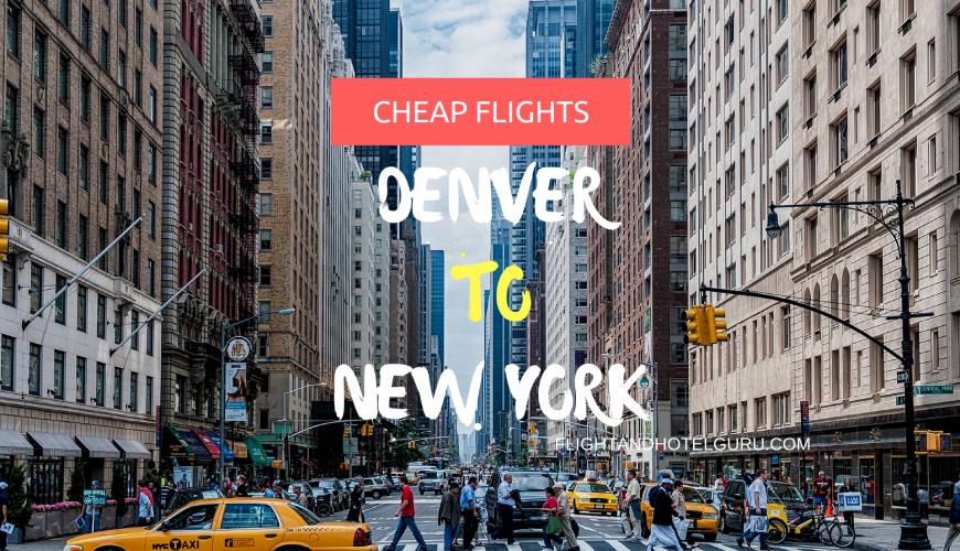 cheap flights denver new york
